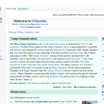 Wikipedia Updates Site Design, Introduces New Features