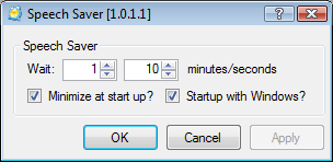 Speech Saver Turn Off Speech Recognition In Windows Vista