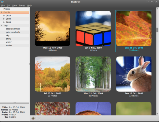 Shotwell Photo Manager Ubuntu Netbook