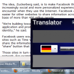 A Desktop / Web Language Translator Based On Silverlight [Works On Windows Phone 7]