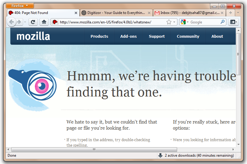 Mozilla Firefox 4 0 Beta Released – Download Now [Windows, Mac, Linux]