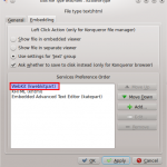 How To Switch To WebKit in Konqueror Browser [KDE SC 4.5 / Kubuntu]