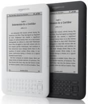 Amazon Kindle - White and Graphite
