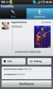 android tumblr app 3