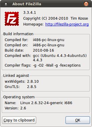 Filezilla 3.3.4