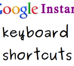 Google Instant: Keyboard Shortcuts For Even Faster Google Instant