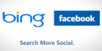 Facebook Bing integration