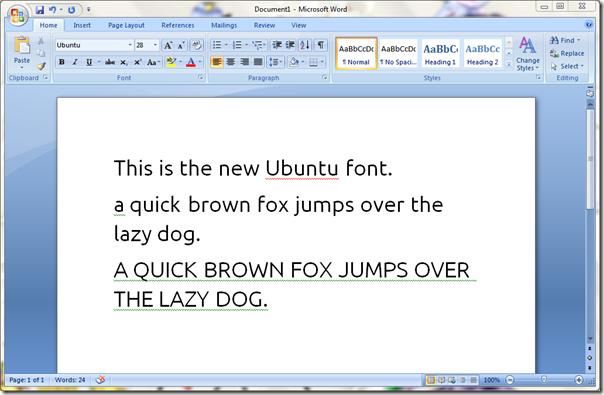 msword-ubuntu-font
