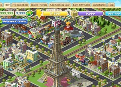 Cityville gameplay