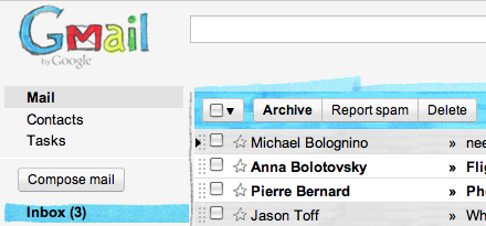 Marker Gmail Theme