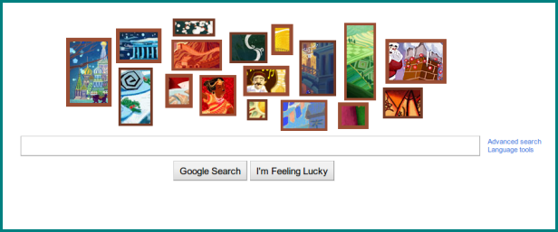 "Google ""2011 Holidays & Christmas"" Doodle"