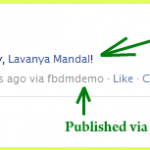 How To @ Tag An User While Publishing A Post Via Facebook Graph API