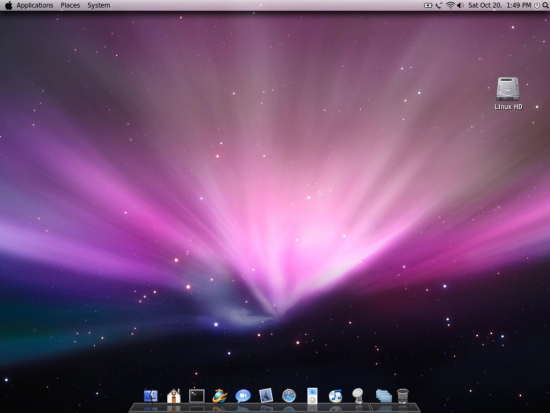 Apple Mac OS Theme for Linux