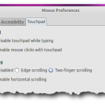 How To Enable Two Finger Scrolling In Ubuntu 10.10