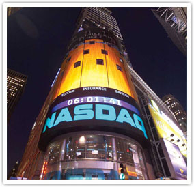 Outside View of NASDAQ