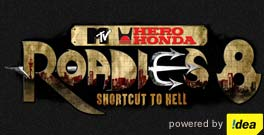 MTV Roadies 8 logo