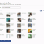 How To Show FBML Facebook Friend Invite Form In An IFRAME App?