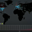 Visualising the world-wide growth of Android