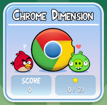 "Angry Birds ""Chrome Dimension"""