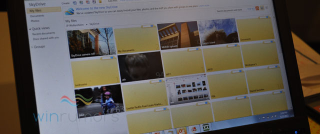 HTML5 version of the Gallery in new SkyDrive