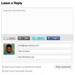 WordPress.com Adds Twitter And Facebook Accounts To Put Comments