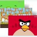 Theme for Windows 7 based on Angry Birds game
