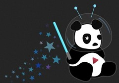 YouTube Cosmic Panda Logo