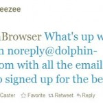 Dolphin Browser Has Leaked Thousands Of Emails Of Beta Testers