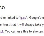 Google Acquires g.co Domain – To Be Used As Official URL Shortener For Google Websites