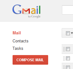 New GMail+ Plus interface