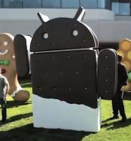 Android 4.0 Icecream Sandwich Statue
