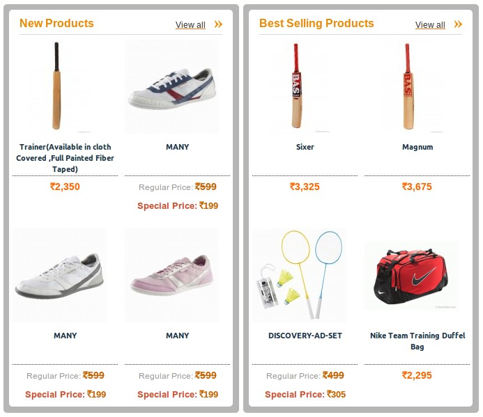 Sportsnest.com Store - Buy Sports Equipment online in India