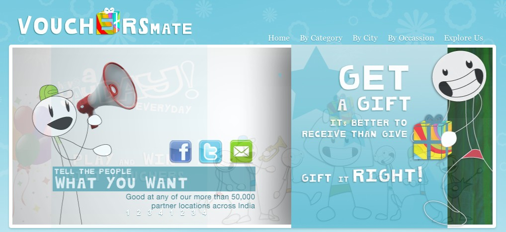 Vouchersmate - Online Gifting in India
