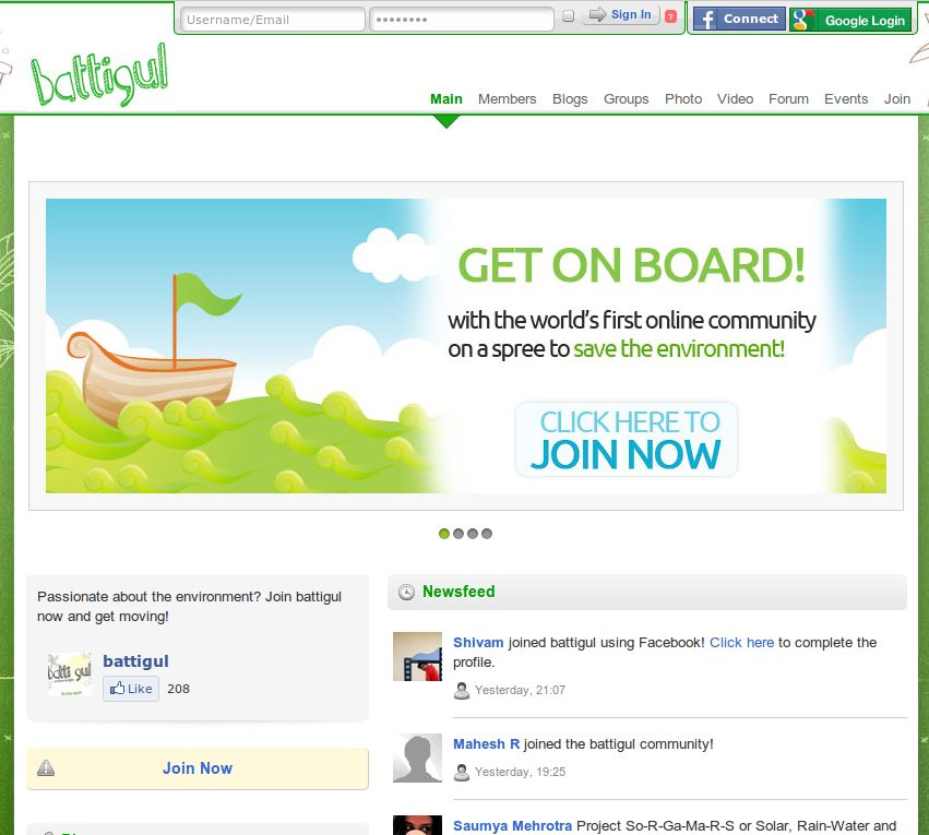 Landing Page - Battigul.org