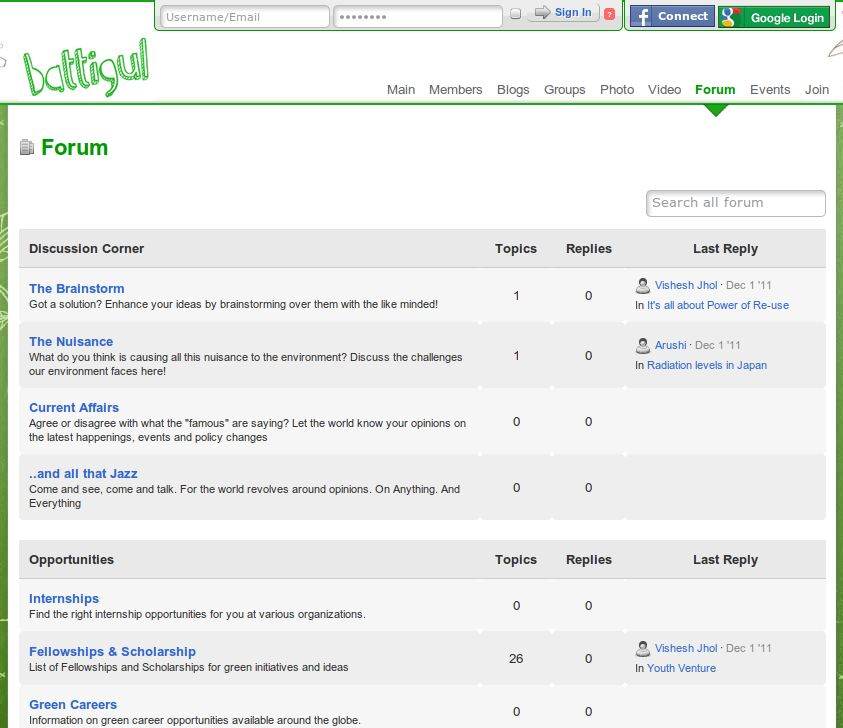 Forums & Discussions - Battigul.org