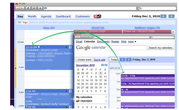 Appointy - Google Calendar Integration