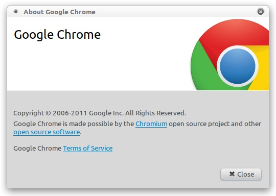 Download, Install Google Chrome 17