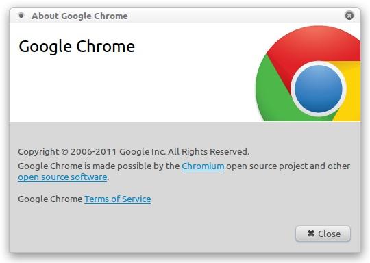 Download, Install Google Chrome 17