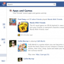 Facebook plans to launch a Games only activity feed