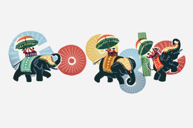Google's Republic Day Doodle