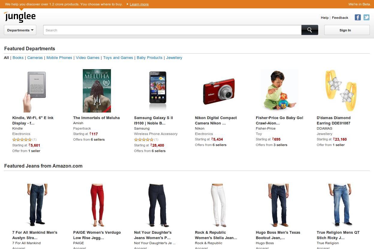 Junglee.com - Amazon's India Avatar