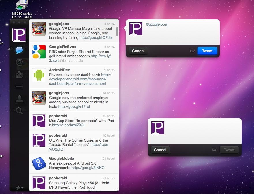 Mac Twitter App