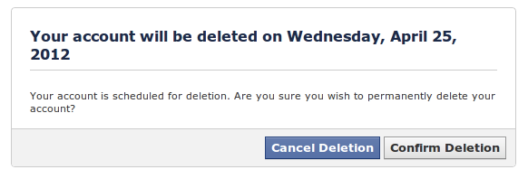 Cancel Deletion and get back on Facebook