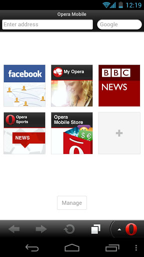 Opera Mobile Browser Android App