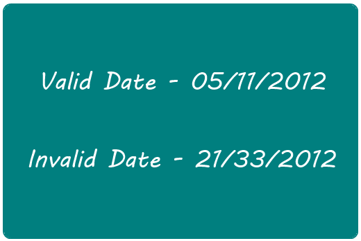 PHP Valid / Invalid Date Checker