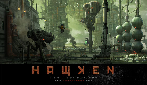HAWKEN Mech Combat FPS Game Image