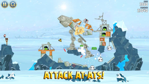 Angry Birds Star Wars iPhone iPad game app