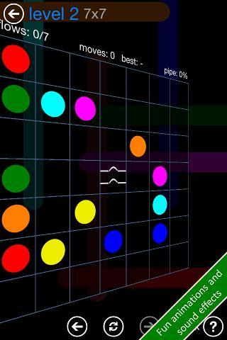Flow Free Bridges iPhone & iPad game app
