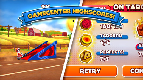 Joe Danger iPhone iPad game app