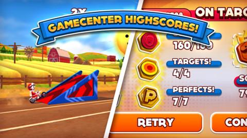 Joe Danger iPhone iPad game app
